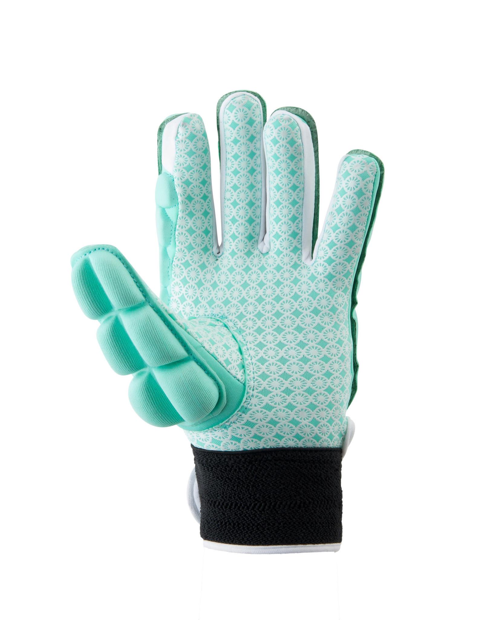 Indian Maharadja Glove foam full [left]-mint-S