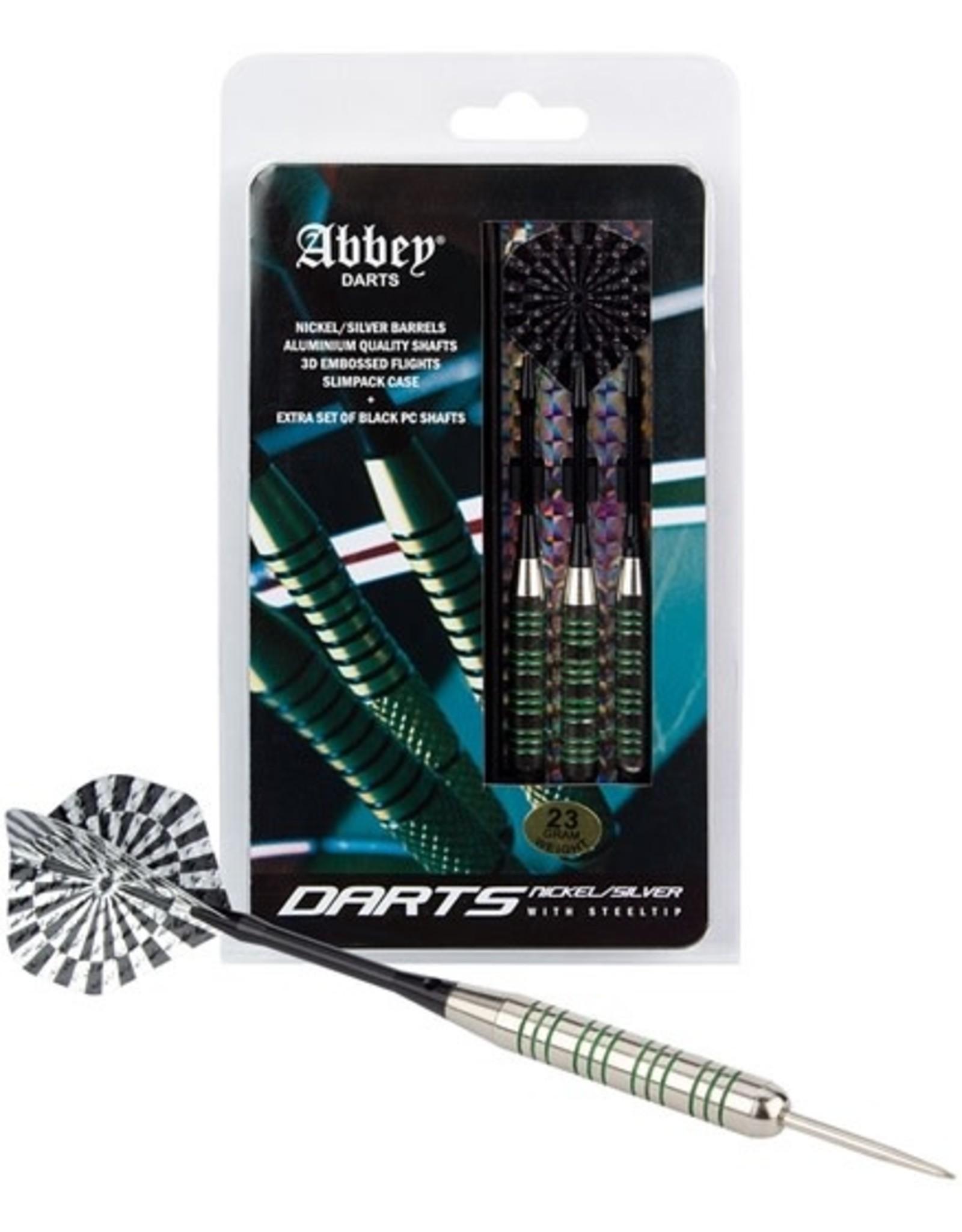 Abbey® Darts Darts • Nickel/Silver •