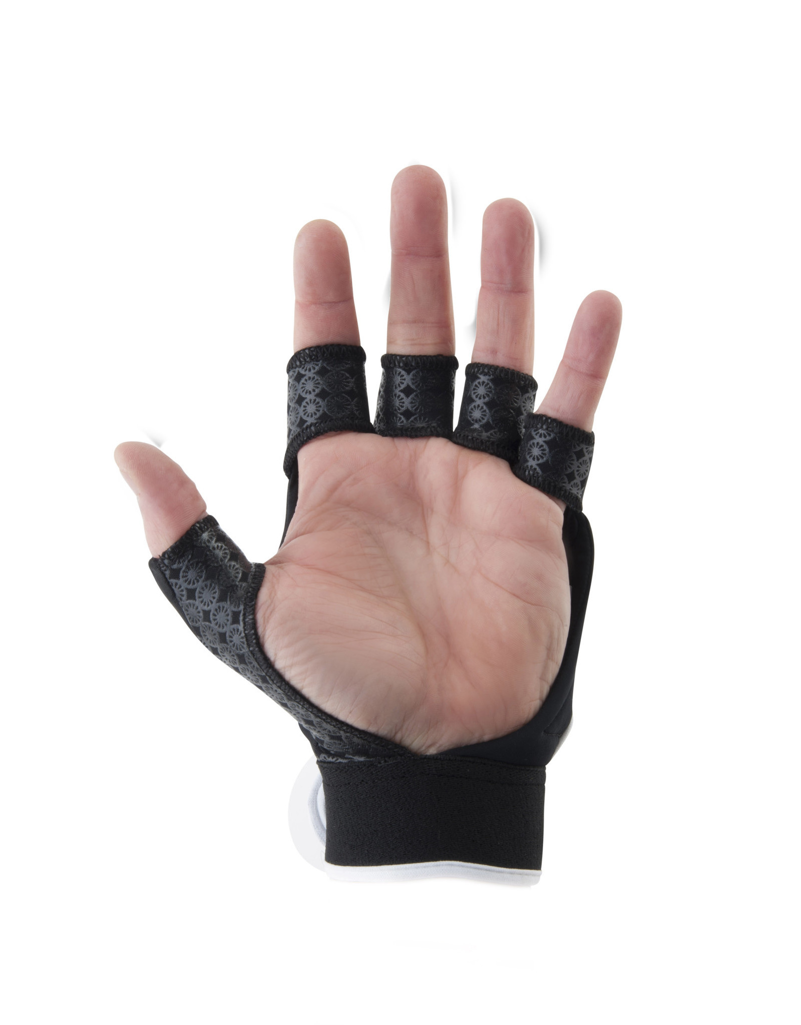 Maharadja Glove shell half [left]-black-XS
