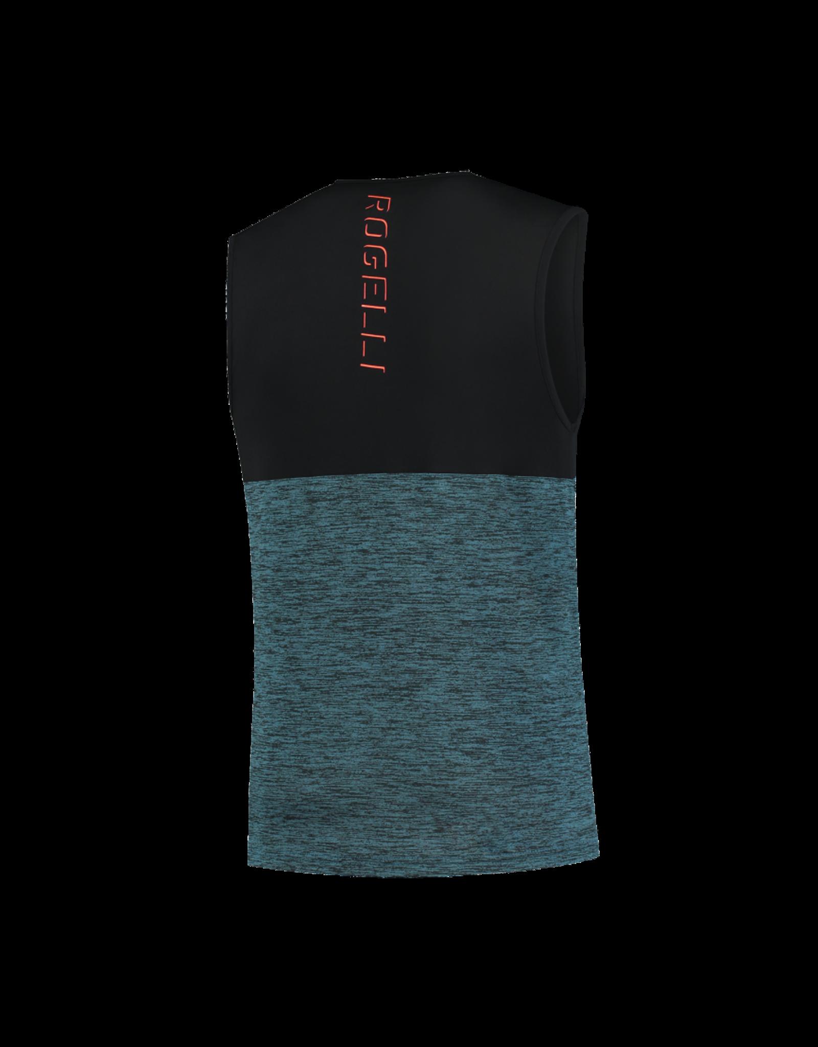 Rogelli Runningsinglet Essence Blauw/Oranje