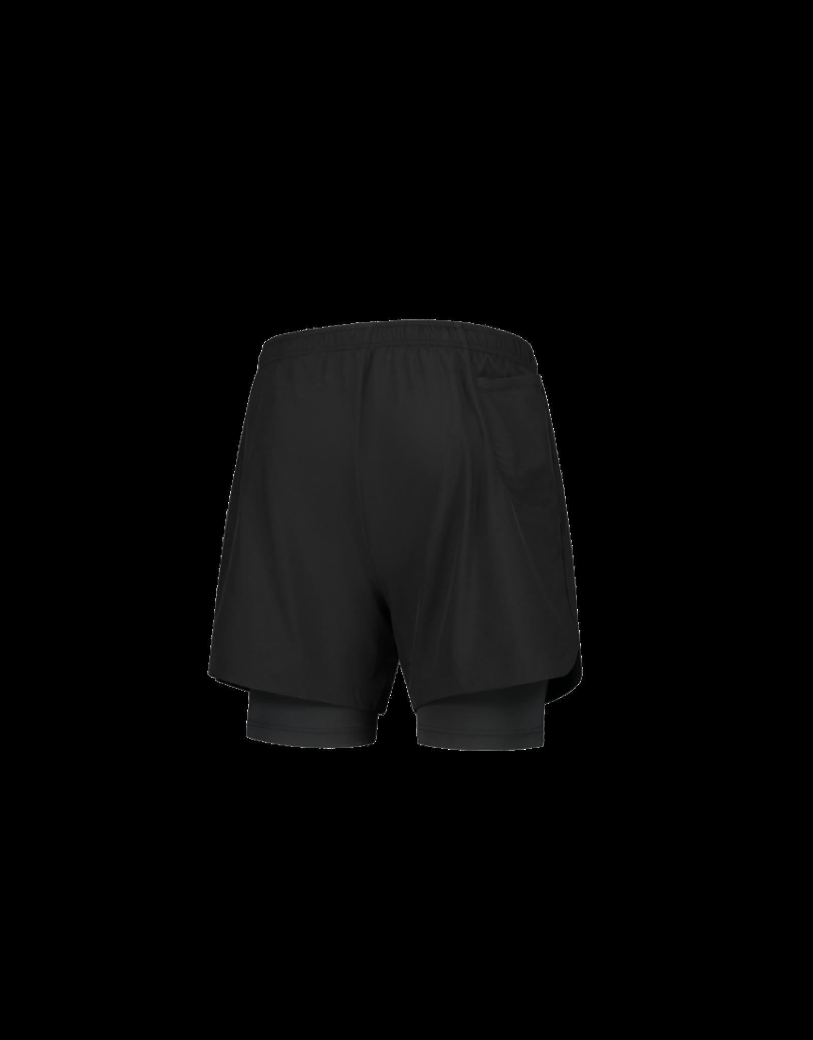 Rogelli Running 2-in-1 Short Matrix Zwart