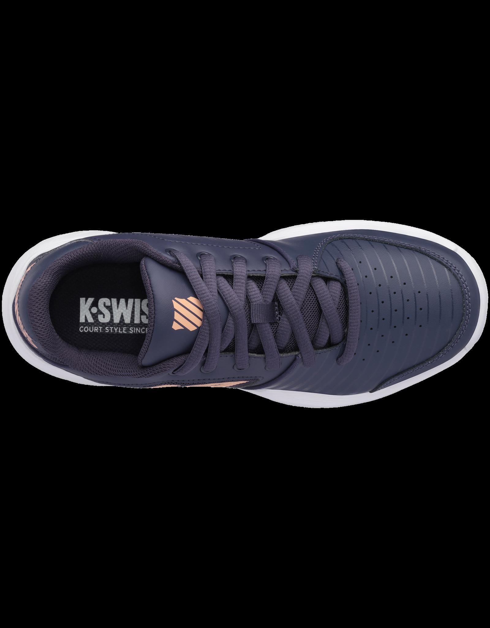 K-swiss LADIES-KS TFW COURT EXPRESS HB-GRAYSTONE/PEACH NECTAR/WHT