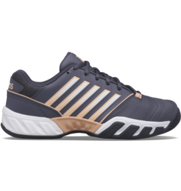 K-swiss LADIES-KS TFW BIGSHOT LIGHT 4-GRAYSTONE/PEACH NECTAR/WHT