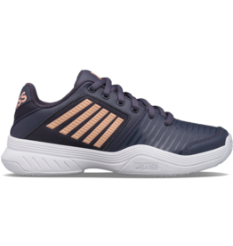 K-swiss JUNIOR-KS TFW COURT EXPRESS OMNI-GRAYSTONE/PEACH NECT/WHT
