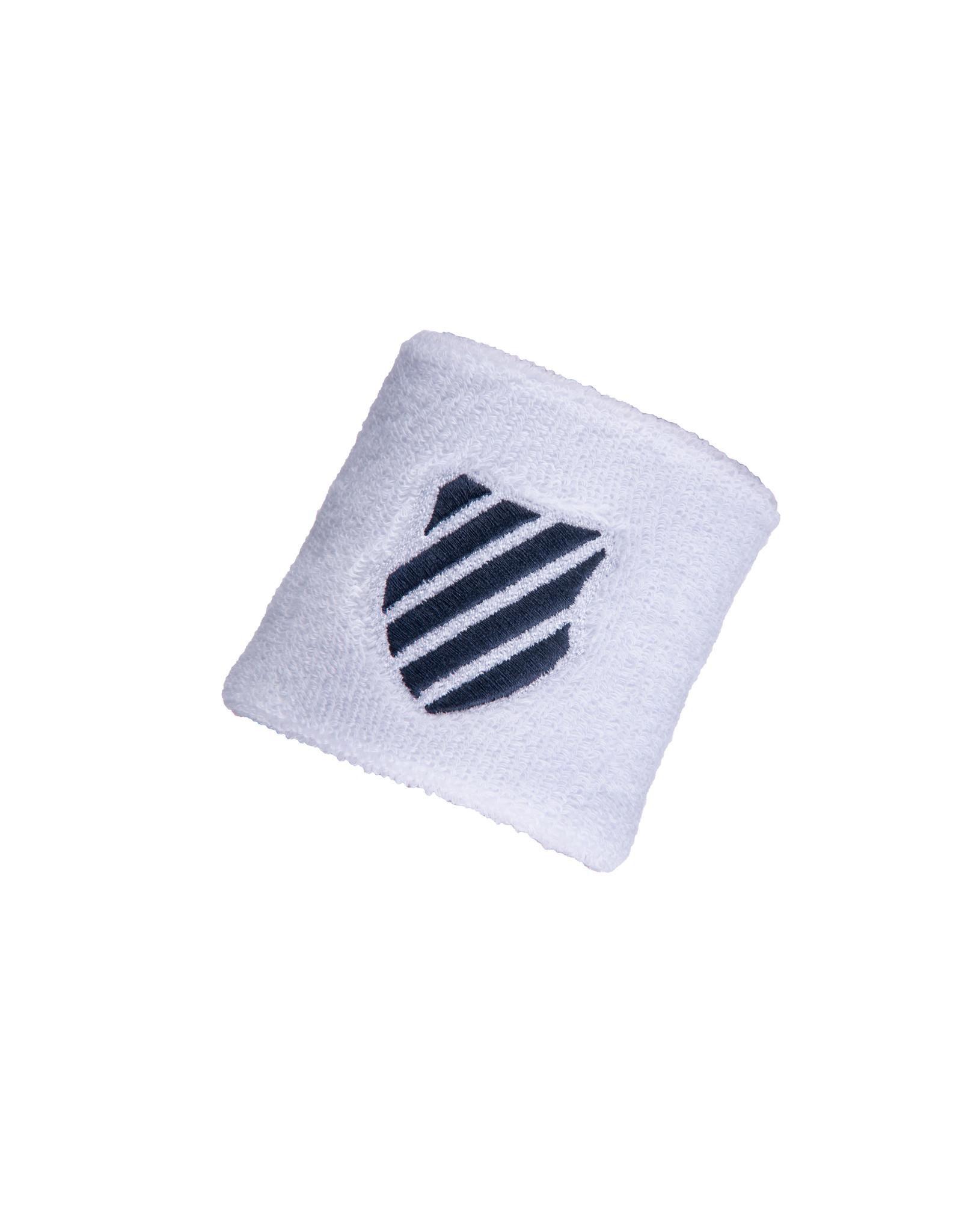 K-swiss UNISEX-KS AC 2 PACK WRISTBAND WHITE/BRUNNER BLUE