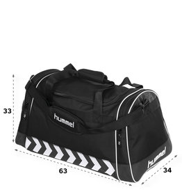 Hummel Luton Bag-BLACK