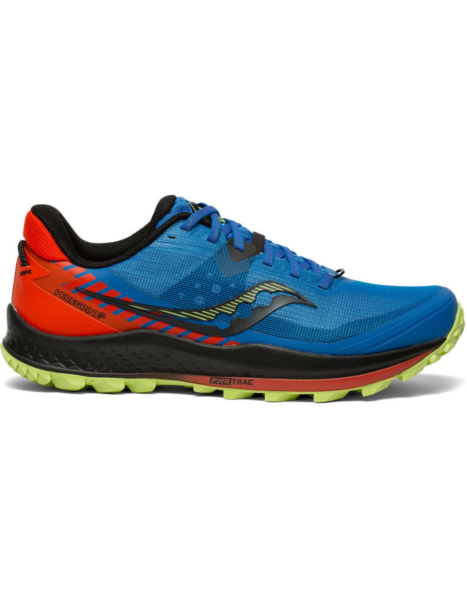 Saucony PEREGRINE 11 ROYAL/SPACE/FIRE-Heren