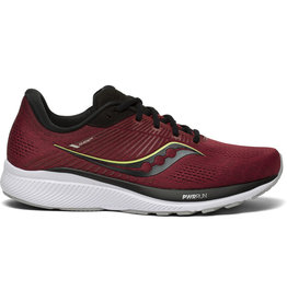 Saucony GUIDE 14 MULBERRY/LIME-Heren
