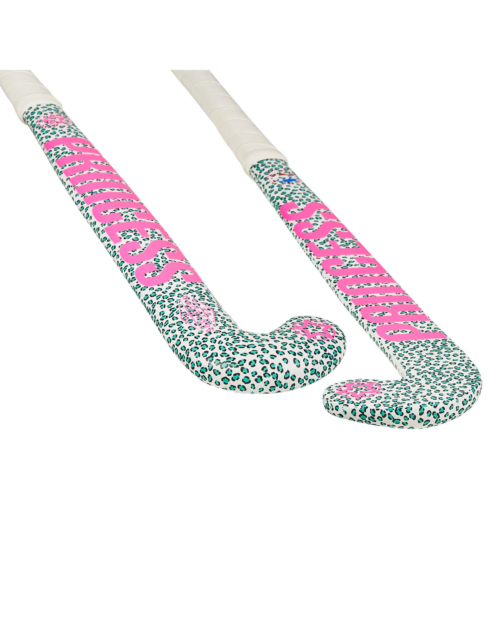 Princess Princess Jr. Woodcore Leopard White/Pink