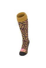 Princess Princess Socks Leopard Gold