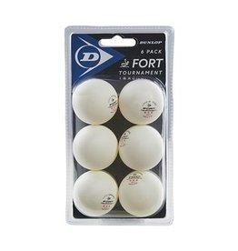 Dunlop D TT BL 40+ FORT TOURNAMENT 6 BALL BLISTER