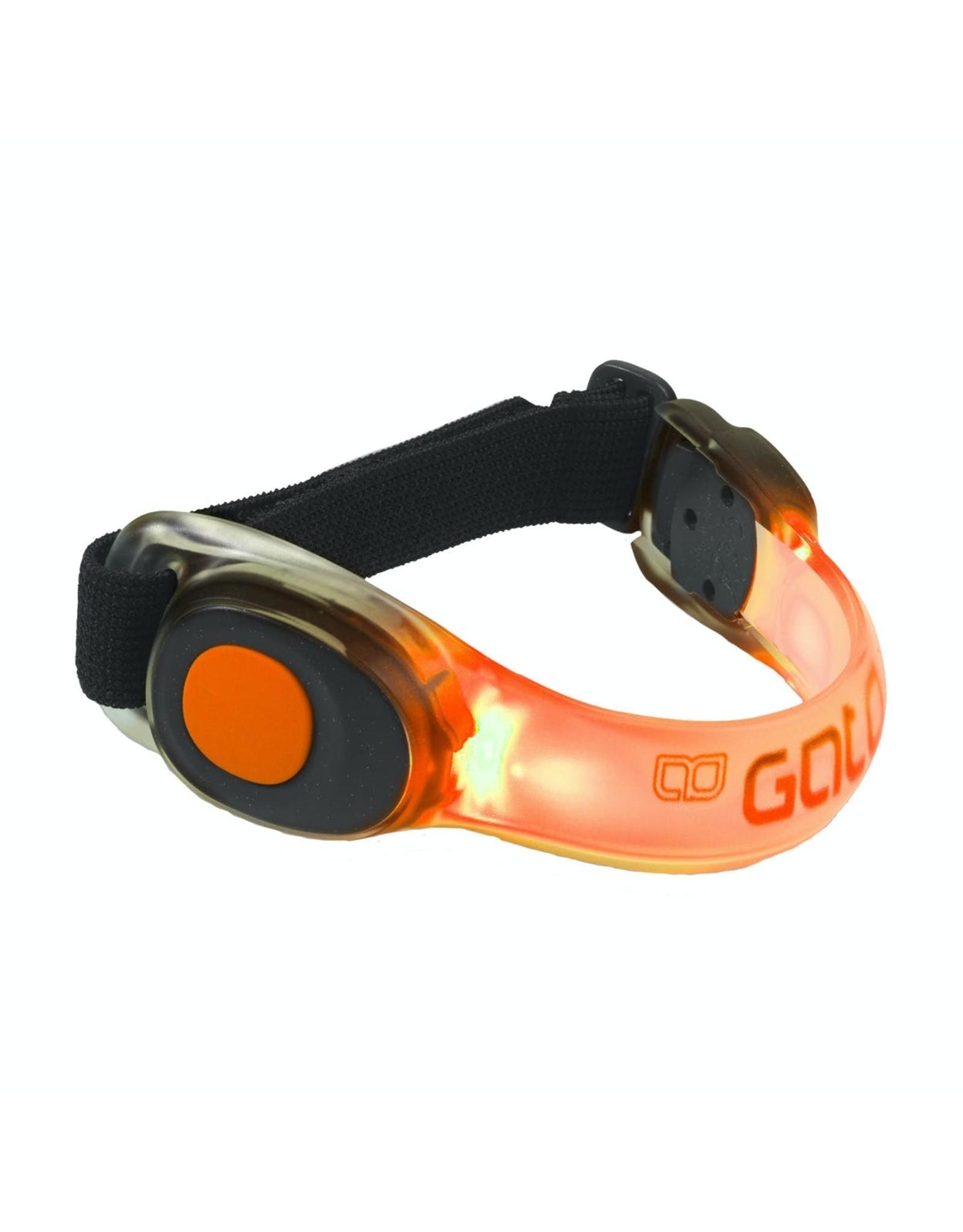 Gato NEON LED ARMBAND (Orange)