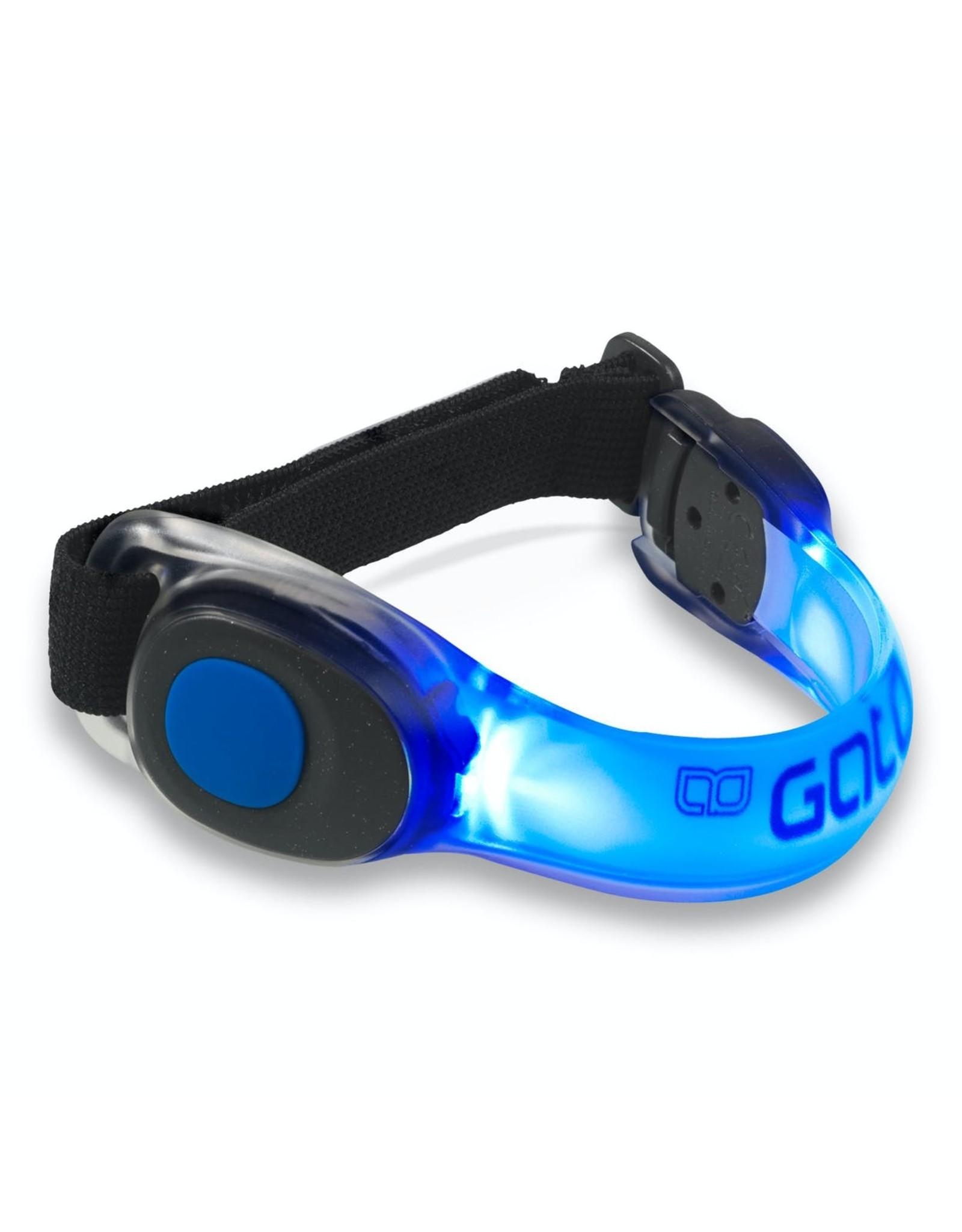 Gato NEON LED ARMBAND (Blue)