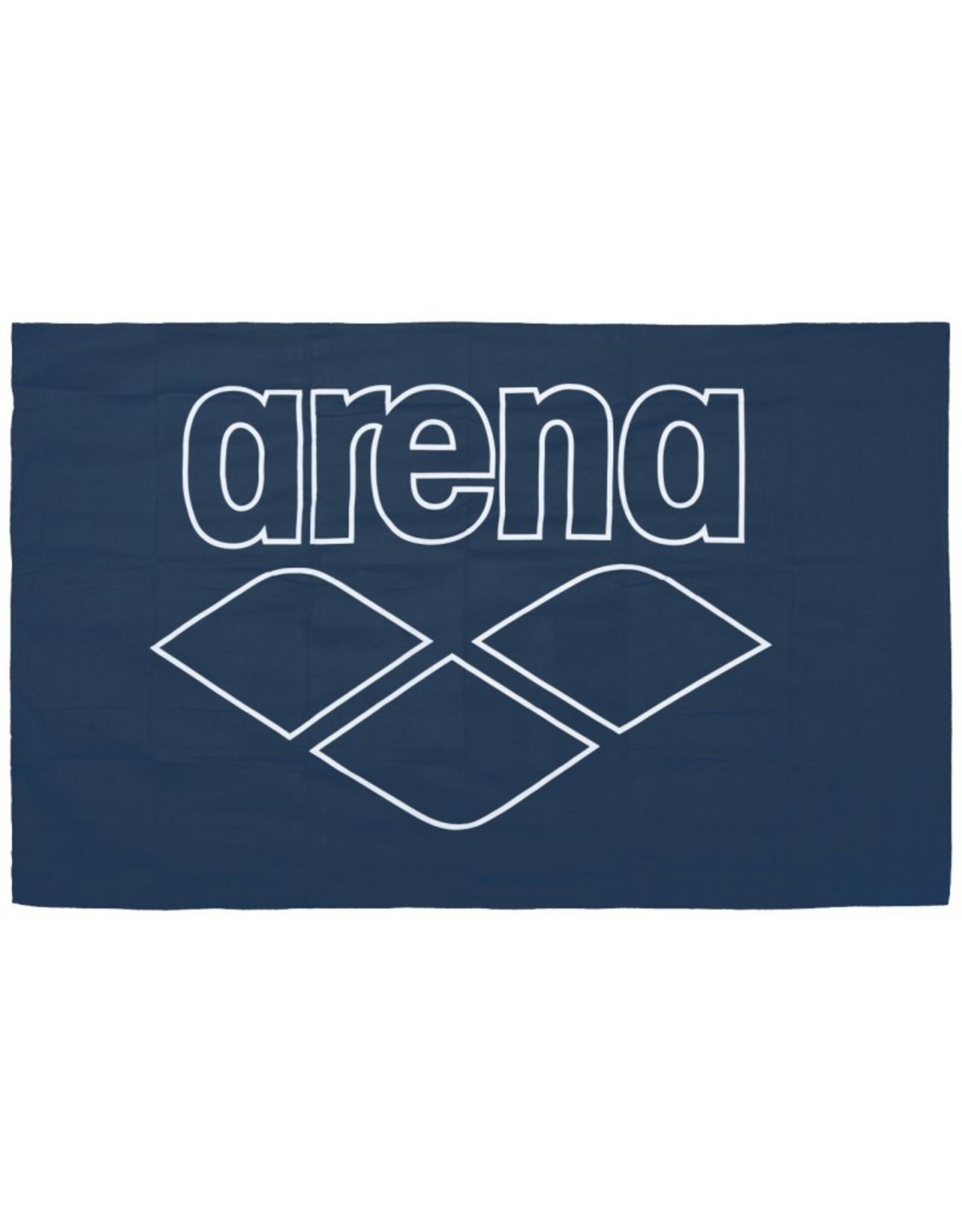 Arena Pool Smart Towel-navy-white