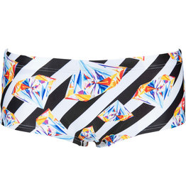 Arena M Crazy Diamonds Low Waist Short-black-white