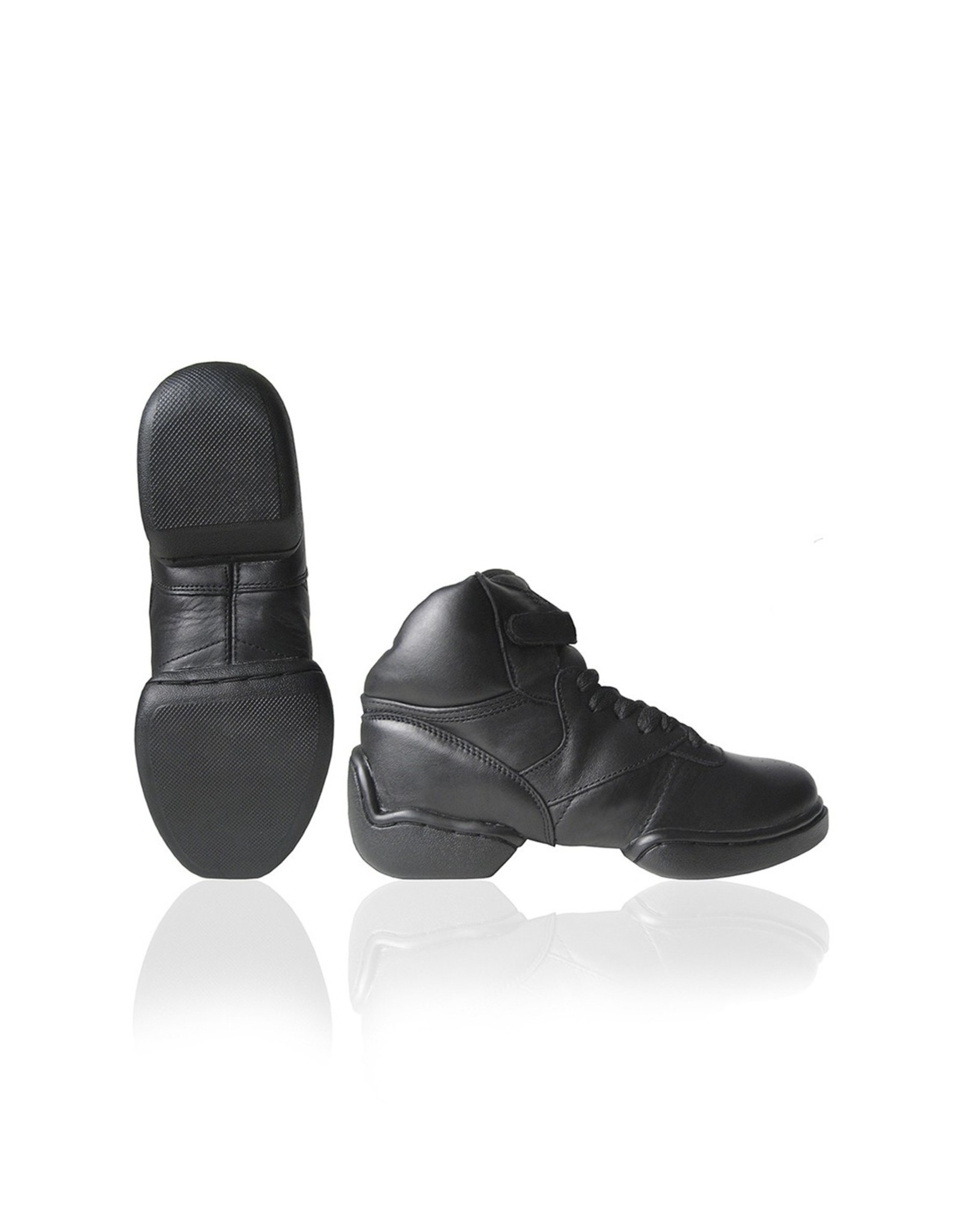 Papillon Dance sneaker, leather, split