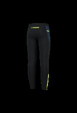 Rogelli Runningtight Lang Electro zwart/blauw/fluor-gee