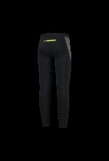 Rogelli Runningtight Lang Enjoy zwart/fluor-geel