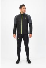 Rogelli Runningjack Enjoy zwart/fluor-geel