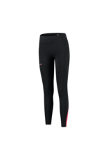 Rogelli Ds Runningtight Lang Enjoy zwart/wit/roze