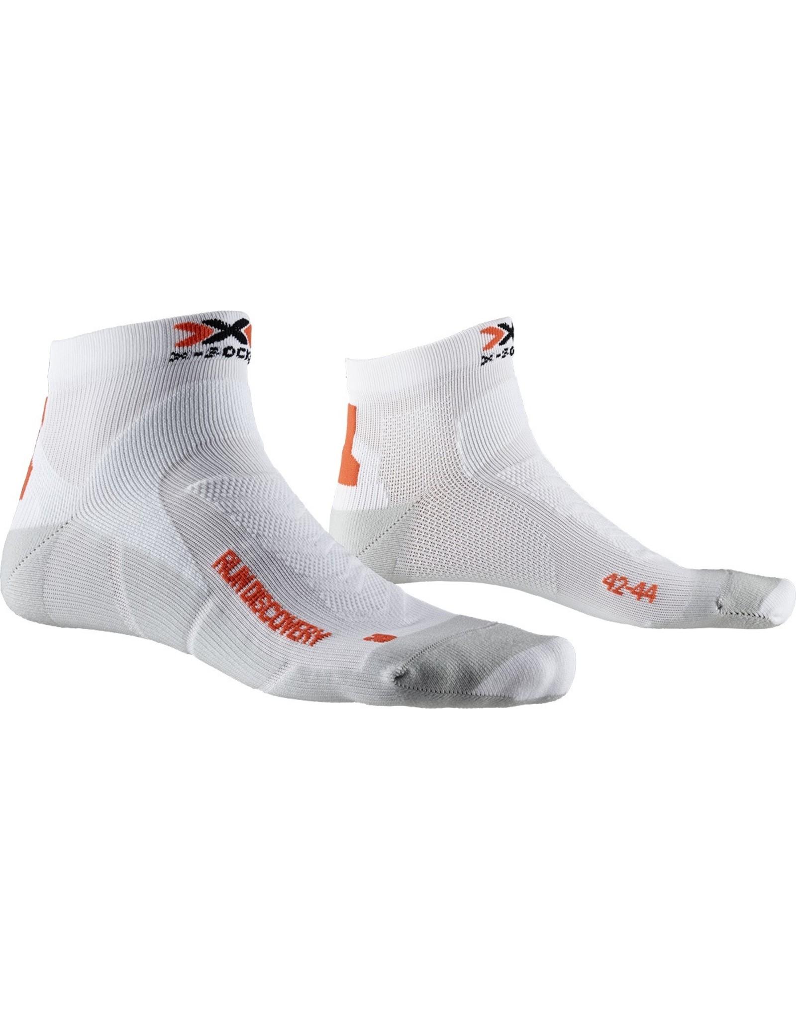 X-socks Run Discovery Socks-white/grey