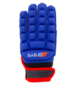Grays Glove International Pro-Navy/Fluo Red