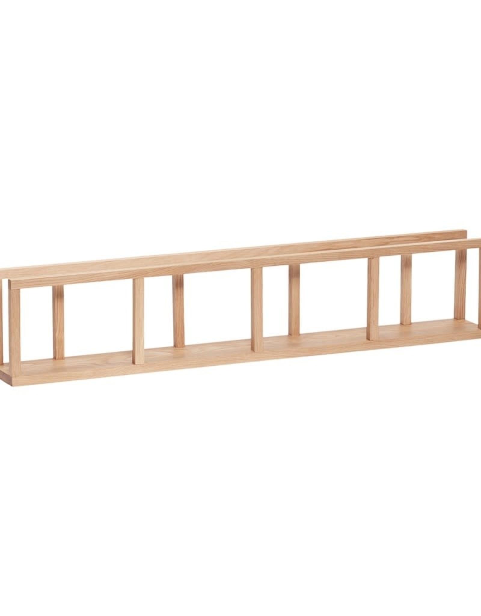 Hübsch Hübsch Wall Shelf Oak 110x13xh22cm
