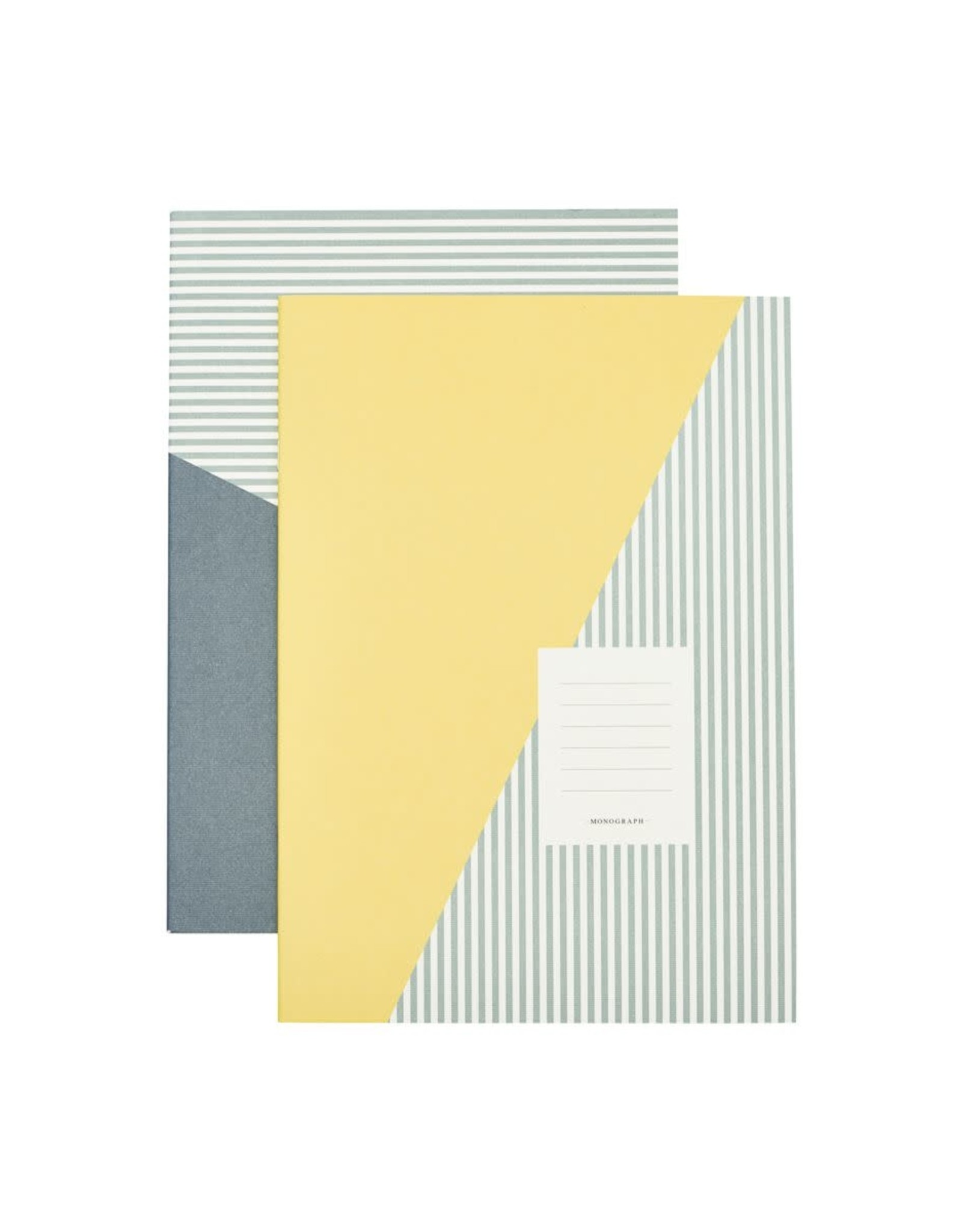 Monograph Monograph Note book Stripes Combo 4 A4 Set of 2 designs