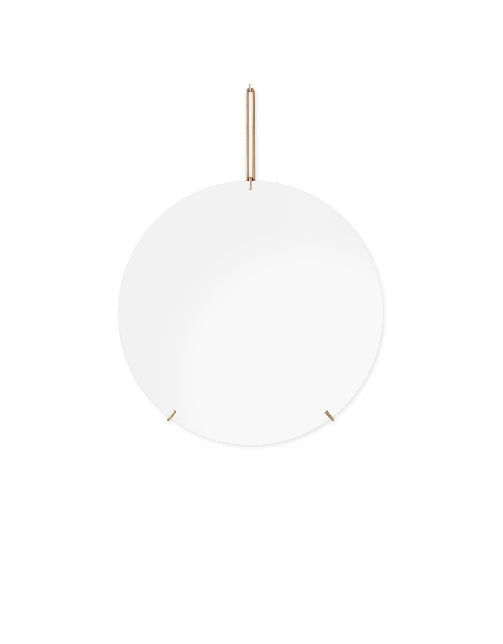 Moebe Moebe Wall Mirror Ø50 Brass