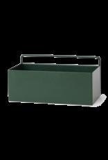 Ferm LIVING Ferm Living Wall Box - Dark Green - Rectangle