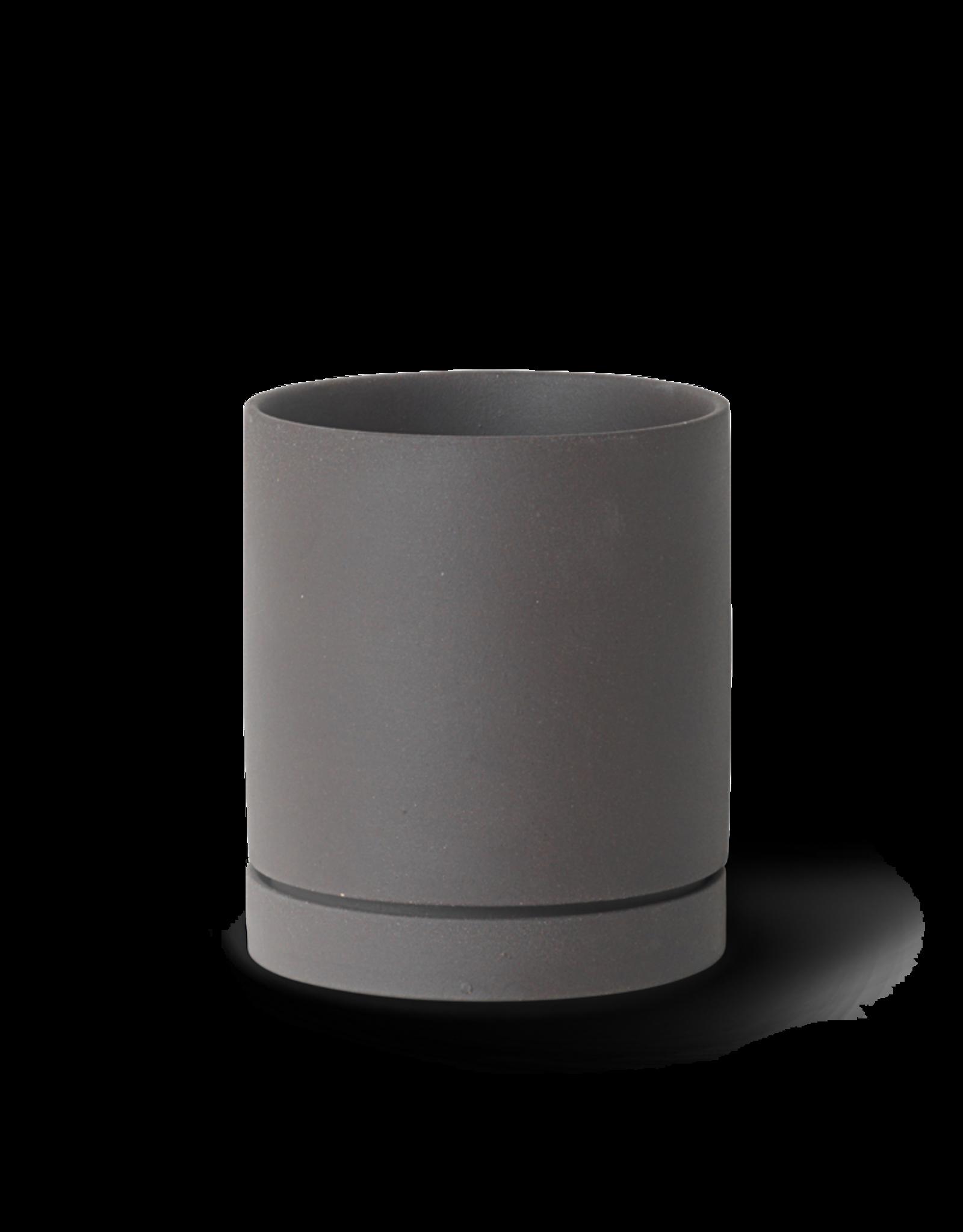Ferm LIVING ferm LIVING Sekki Pot - Medium - Charcoal
