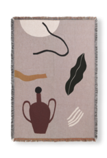Ferm LIVING ferm LIVING Mirage Blanket Grey