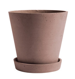 HAY HAY Flowerpot with Saucer XL terracotta