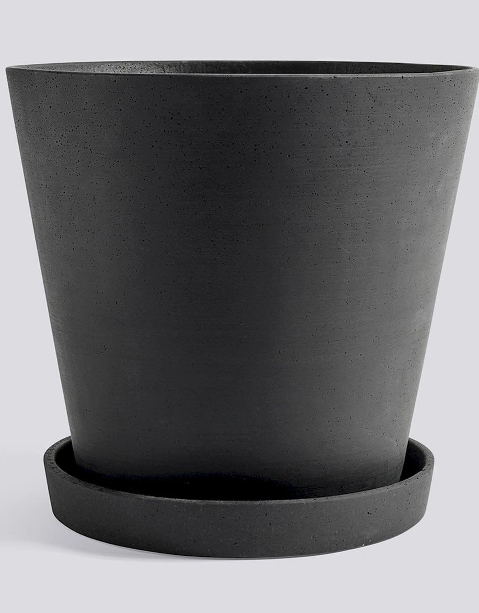 HAY HAY Flowerpot with Saucer XXXL black