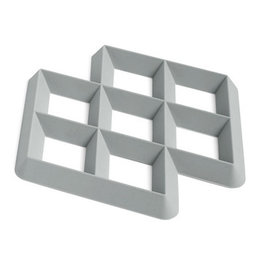 HAY HAY Rhom Trivet light grey