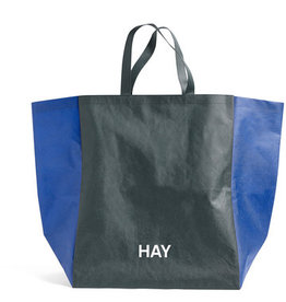 HAY HAY Shopping Bag Two-tone green