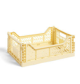 HAY HAY Colour Crate M light yellow