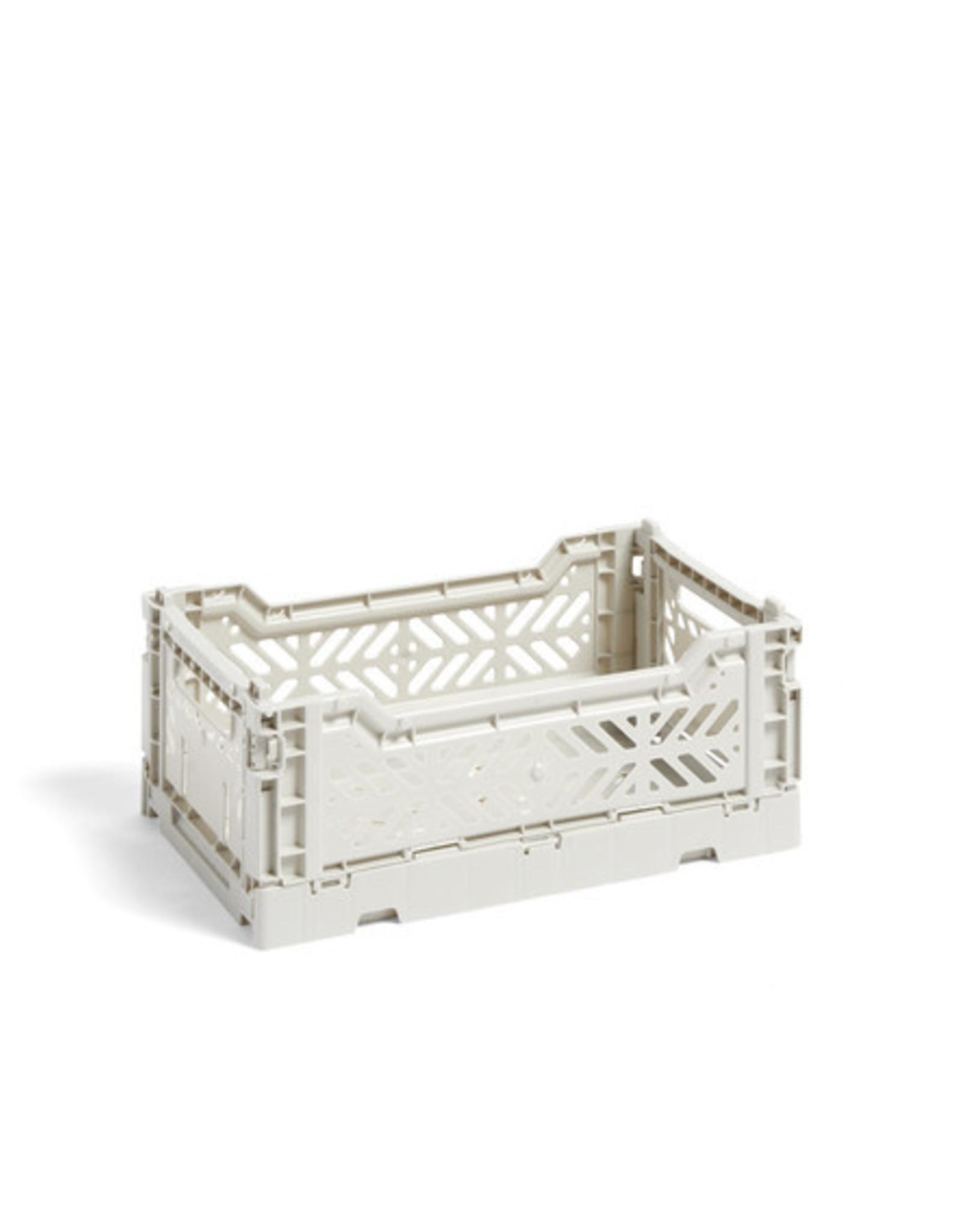 HAY HAY Colour Crate S light grey