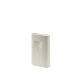Muuto Muuto Ridge Vase H35 off-white