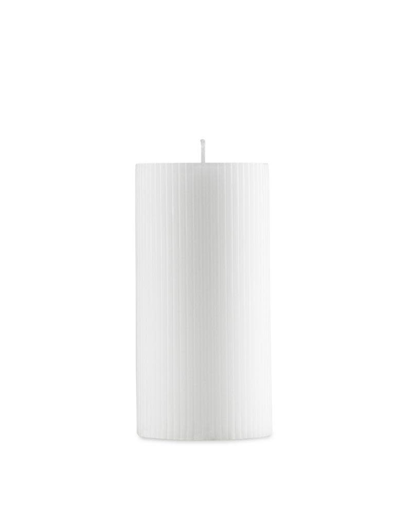 Normann Copenhagen Normann Grooved Block Candle white