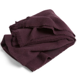 HAY HAY Mono Blanket burgundy