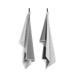 HAY HAY Tea Towels set of 2 dash grid
