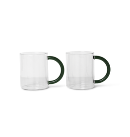 Ferm LIVING ferm LIVING Still Mug set of 2 - clear
