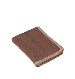 Muuto Muuto Ripple Throw Brown