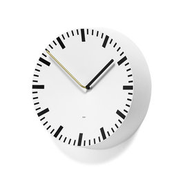 HAY HAY Analog Clock White