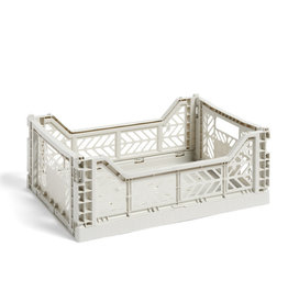 HAY HAY Colour Crate M Light Grey