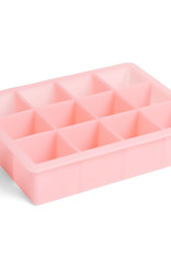 HAY HAY Ice Cube Tray Square XL Pink