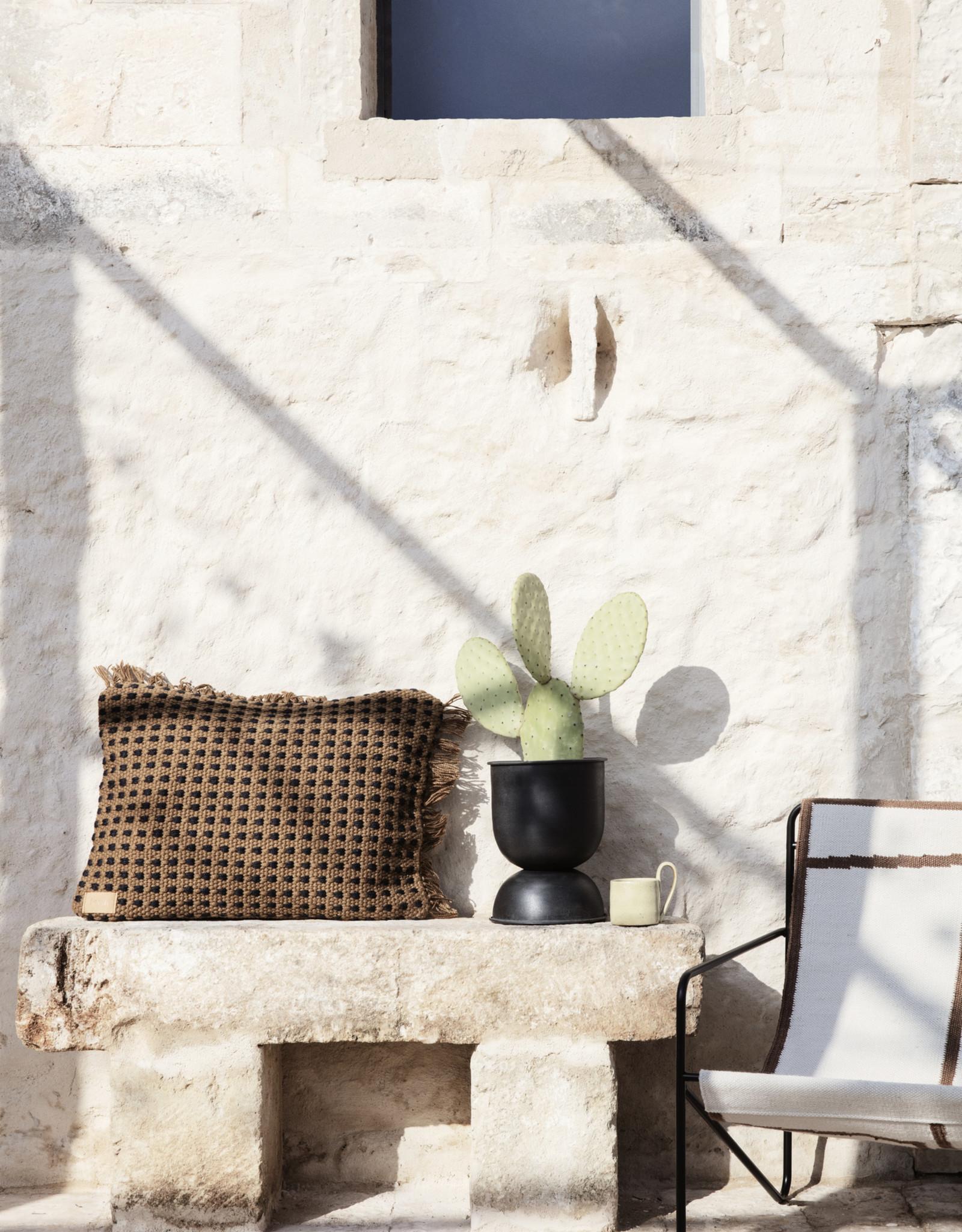 Ferm LIVING ferm LIVING Way Cushion Off-white/Blue