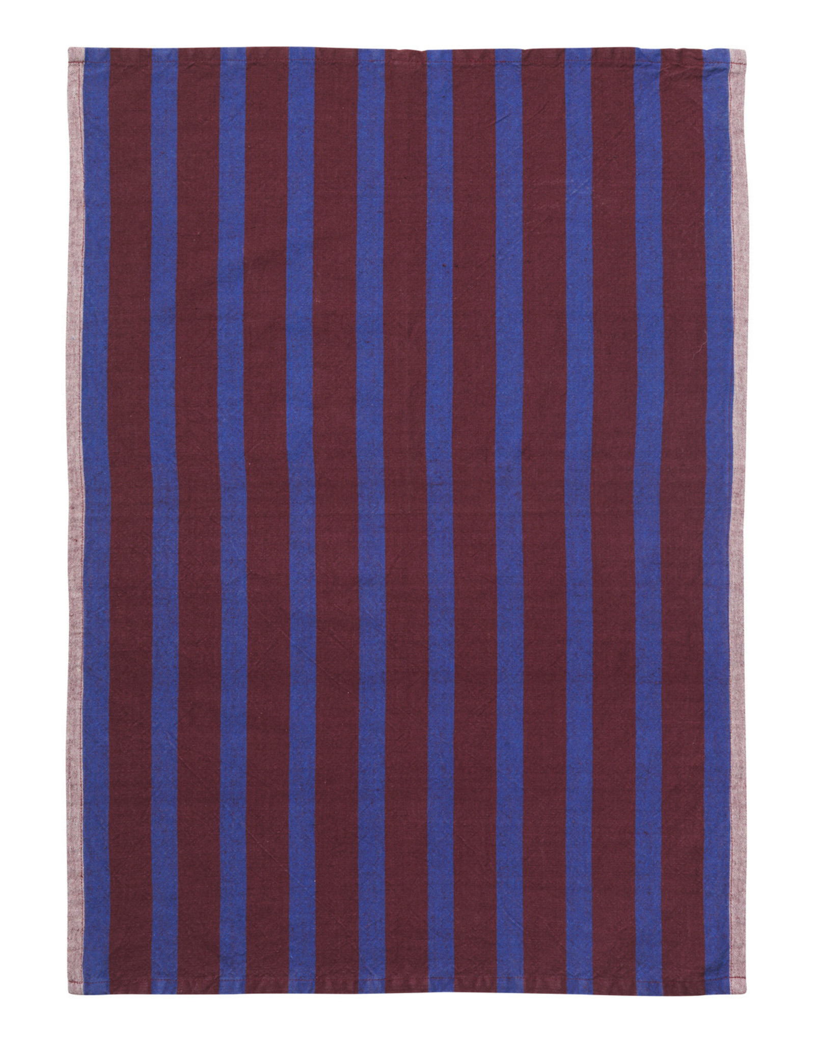 Ferm LIVING ferm LIVING Hale Tea Towel Brown/Navy Blue