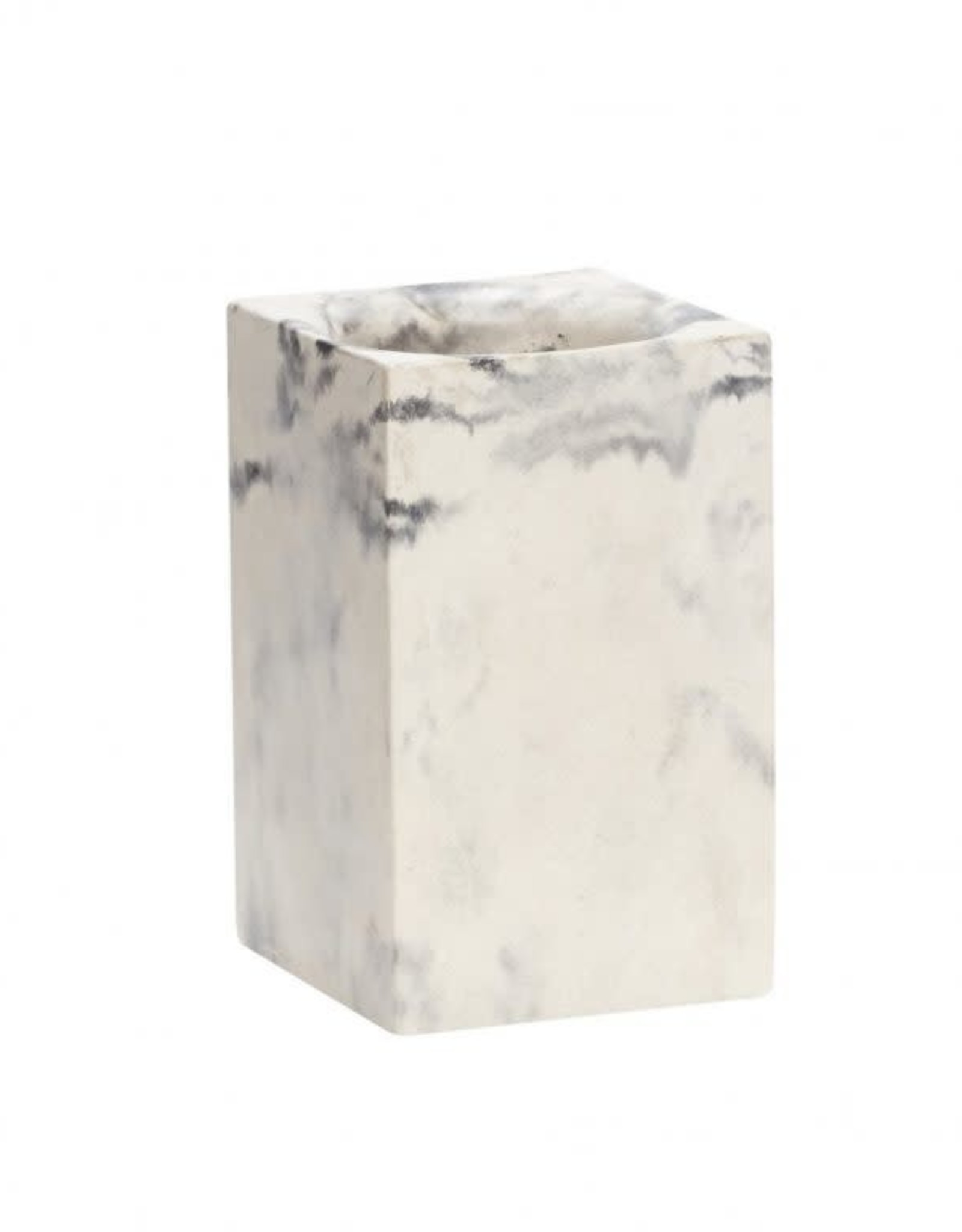 Hübsch Hübsch Storage Concrete/White